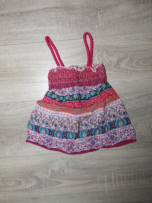 Camisola rosa com padrões