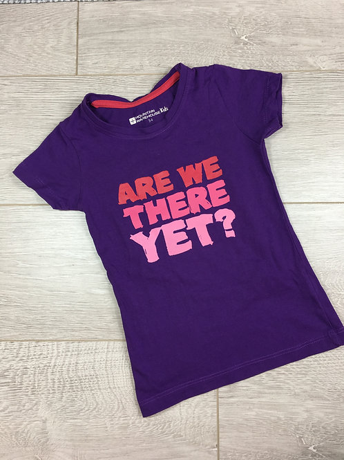 "T-shirt ""Are we there yet?"""