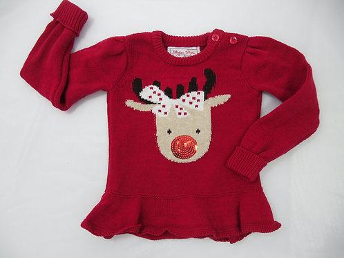 Camisola Rena de Natal