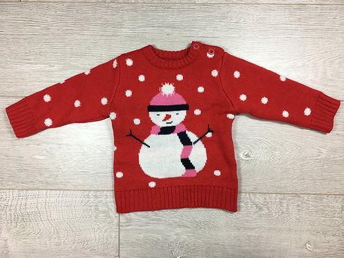 Camisola Boneco de Neve