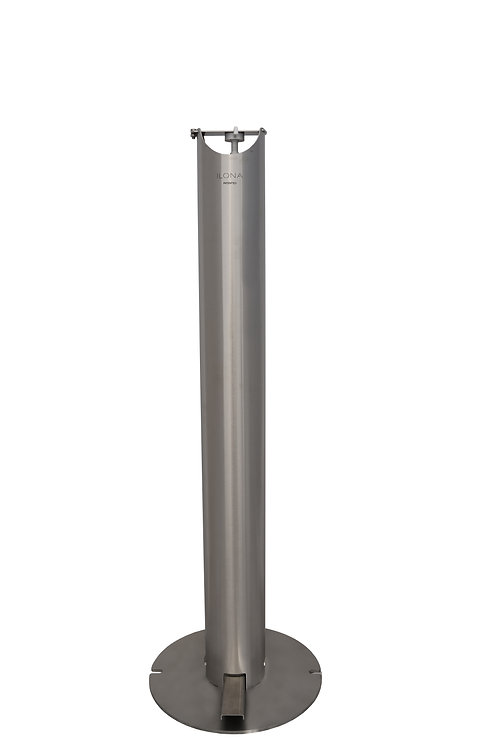 Borne distributeur  universel de gel ou solution hydroalcoolique
