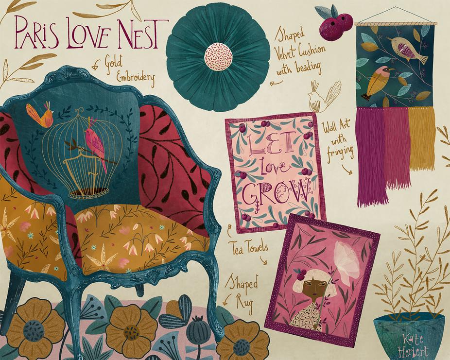 Paris Love Nest
