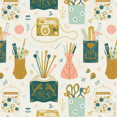 Spoonflower & Create Room