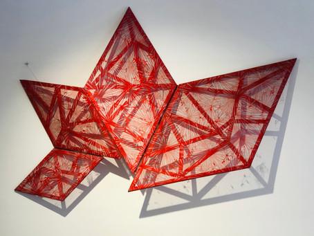 Installazione Angelo Rosso di Pamela Ferri, con Pamela Ferri ,Francesco M. Boni e Luisiano Schiavon