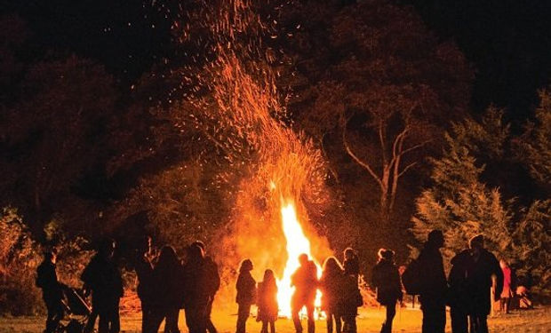 Horrabridge bonfire courtesy of Liam Cot