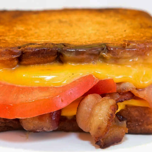 Bacon & Tomato Grilled Cheese