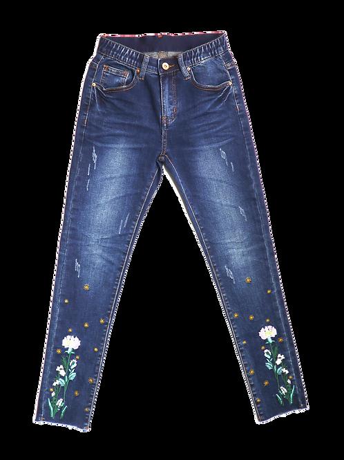 Flora Bloom Jeans