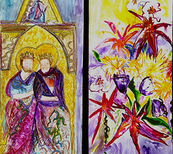 Susan Ashley Christmas Bouquets to Art