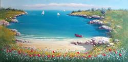 Antonio Anelli  21_La barca rossa_40x80 (2)