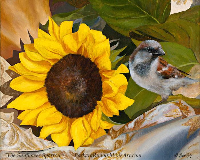 Barbara Rudolph The Sunflower Sparrow