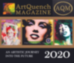ArtQuench Magazine Cover An Artistic Jou
