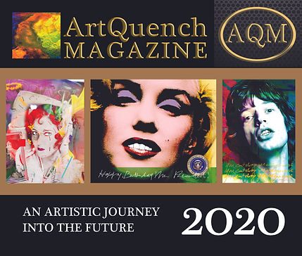 ArtQuench Magazine Cover An Artistic Jou