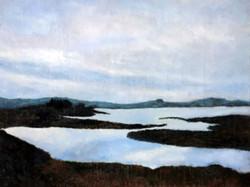 Brent Harris Sky Water 9 x 12 Oil $750