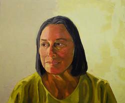 Jennifer Bilek Portrait of Diana Hartel