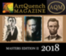 ArtQuench Magazine 2018 Art Book 1 Cover