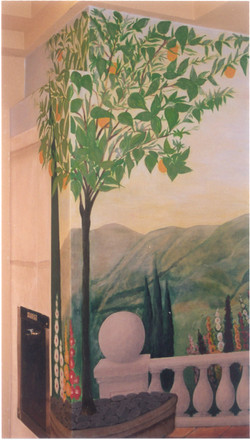 David W. Douthat Hotel mural citrussuites2