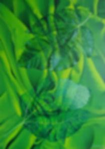 FOGLIE AL VENTO-olio su tela cm, 50 X 70
