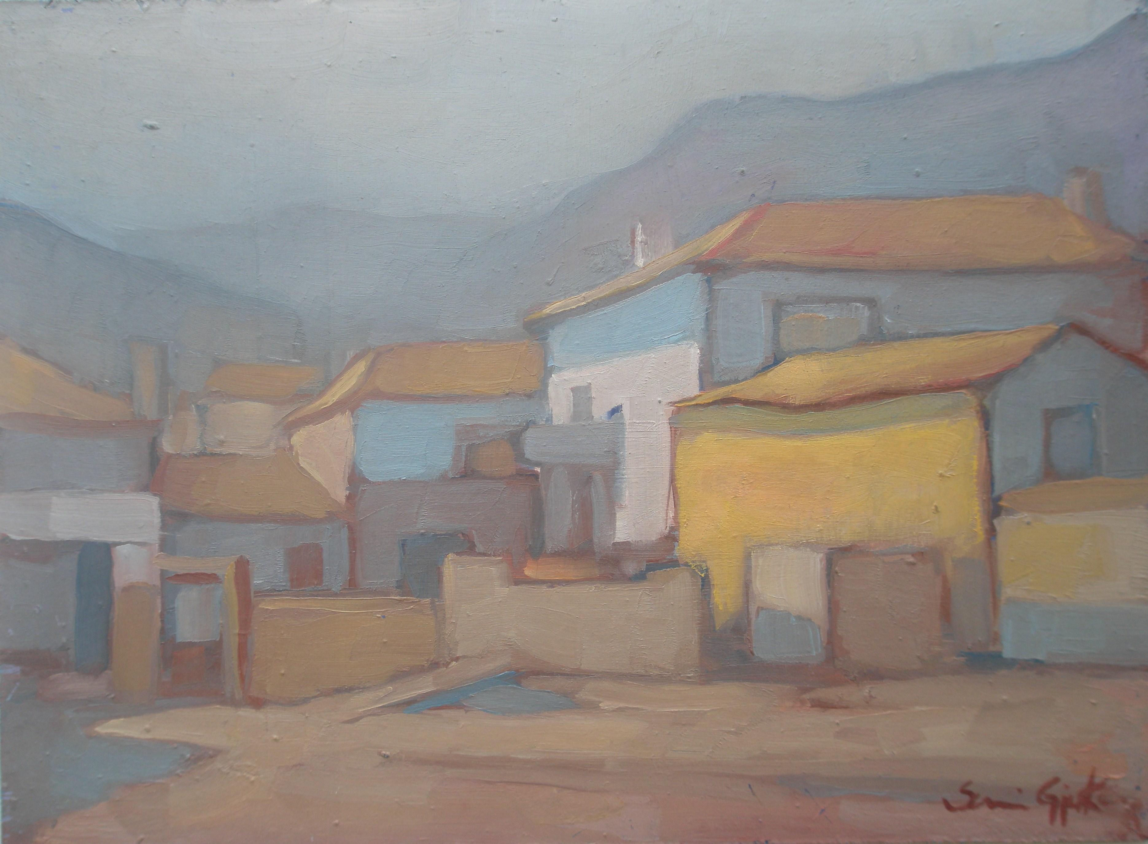 Sami Gjuka Silence  oil on canvas 60x80 cm