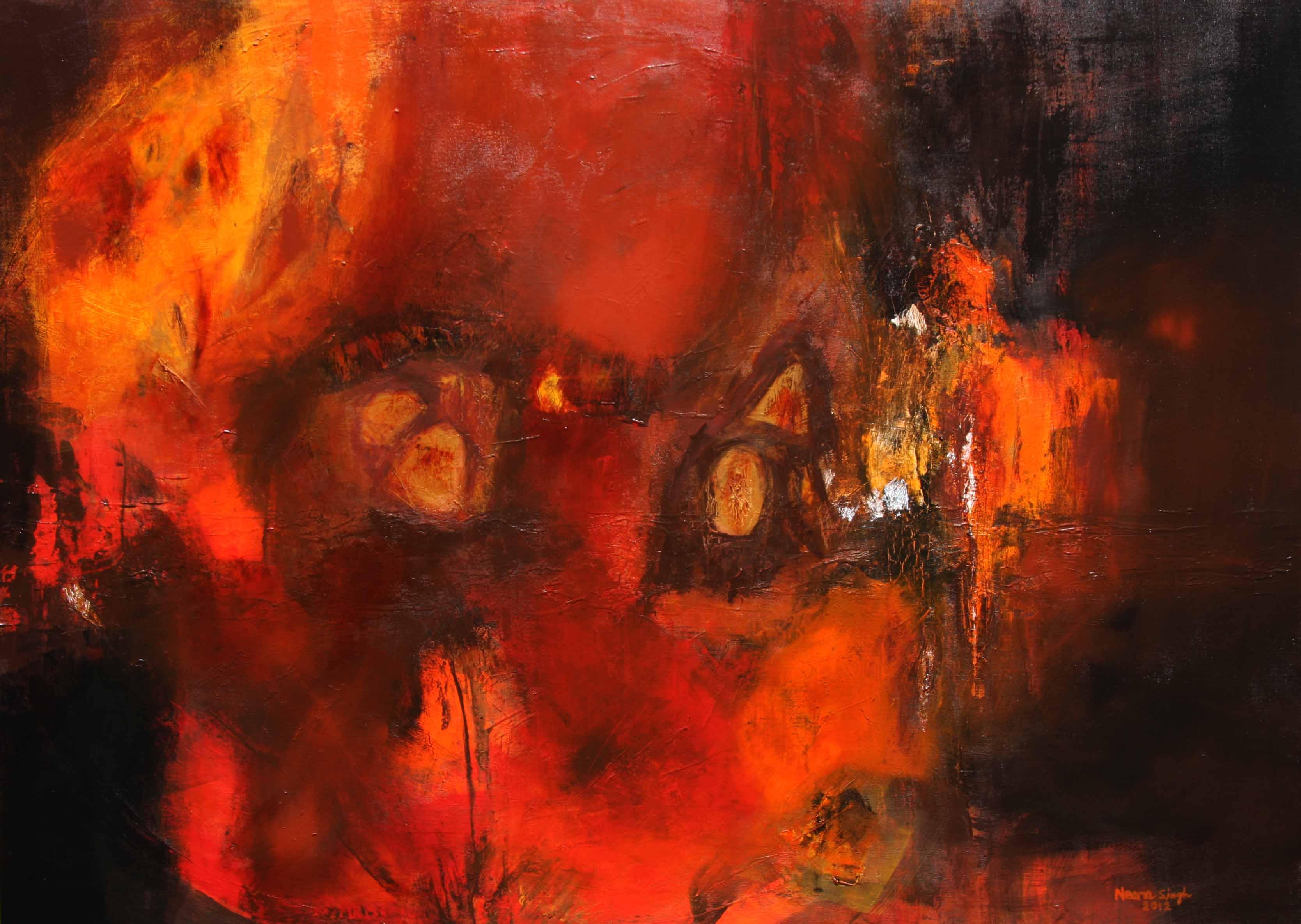 Neena Singh 1  Untitled Acrylic on canvas - 36''X50'' (2)
