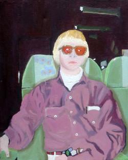 Brent Harris Winter Eyes 16 x 20 Oil $900