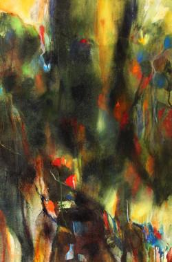 neena Singh 8  Untitled - 36''x 24'' - Acrylic on canvas