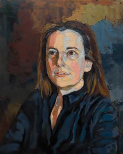 Jennifer Bilek Portrait of Andrea Siegal