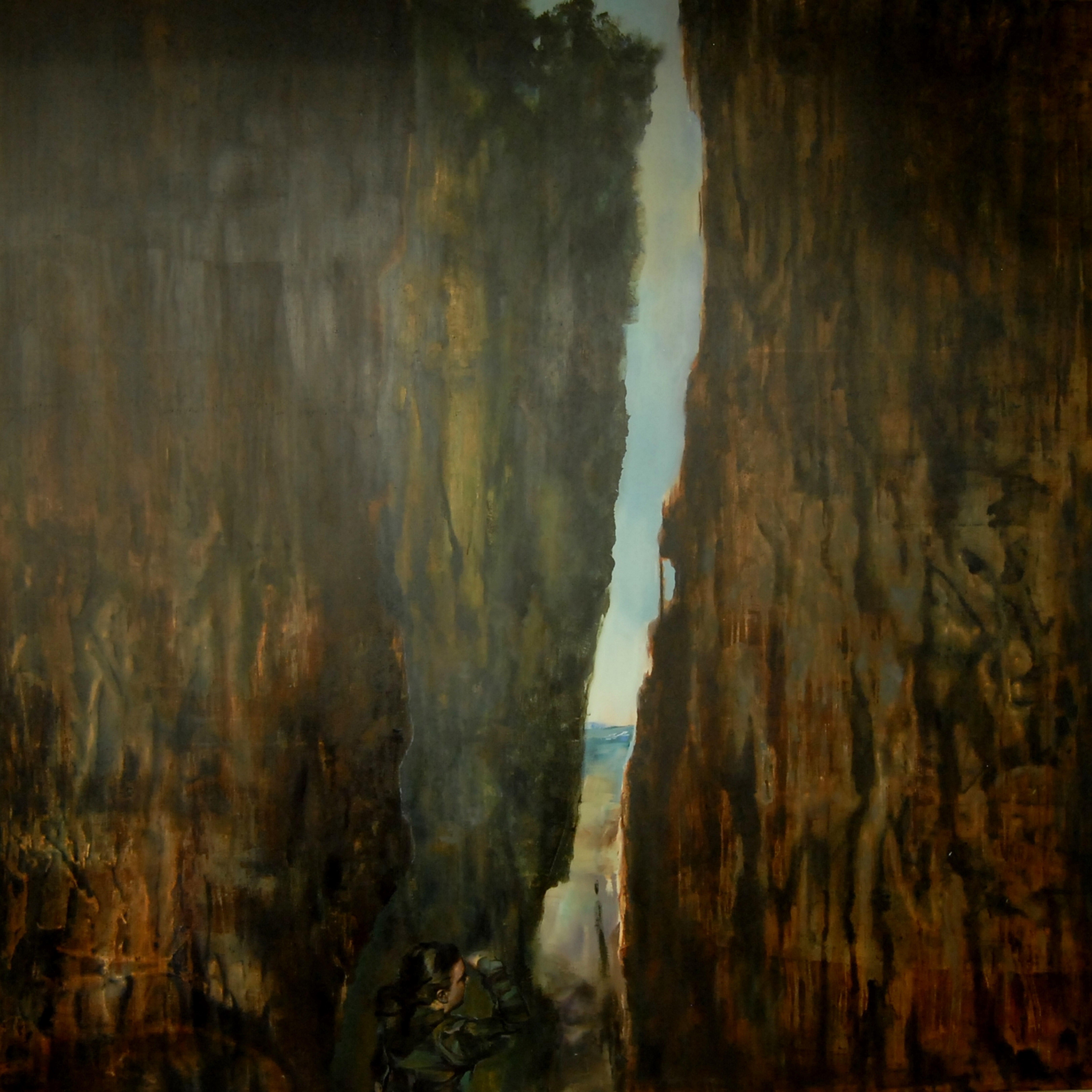 Chrys Roboras Inner sound acrylic on canvas 200 x 200cm may 2008 $7000