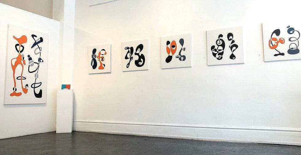 Stacia Gates artwork exhibition GDCA Gal