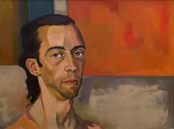Jennifer Bilek Portrait of Robert Manenti