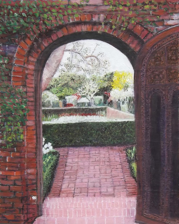 Brent Harris Secret Garden 16 x 20 Oil $800
