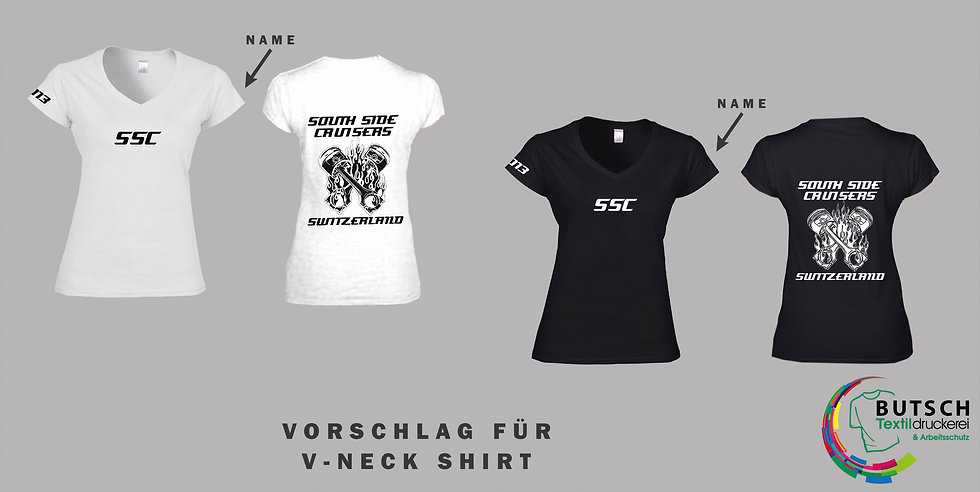 Softstyle Ladie's V-Neck T-Shirt (Damen)