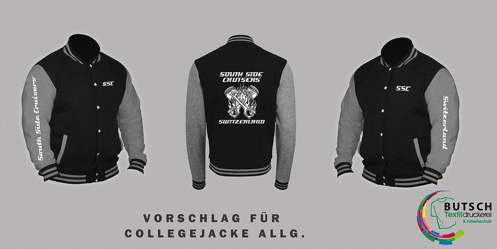 Sweat College Jacket (Herren)