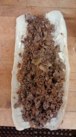 Cheesesteak with Fried Onions