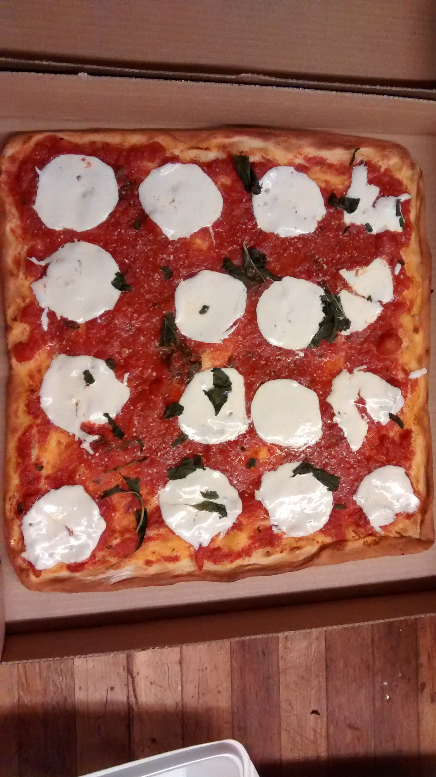 Signature Margherita Pizza