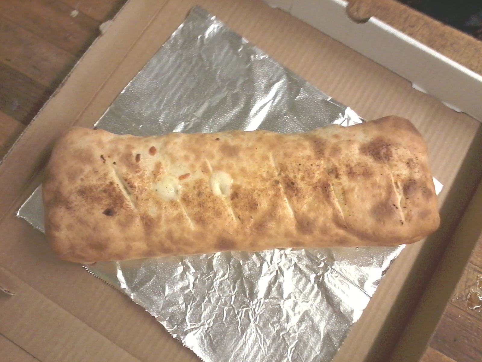 Cheese Stromboli