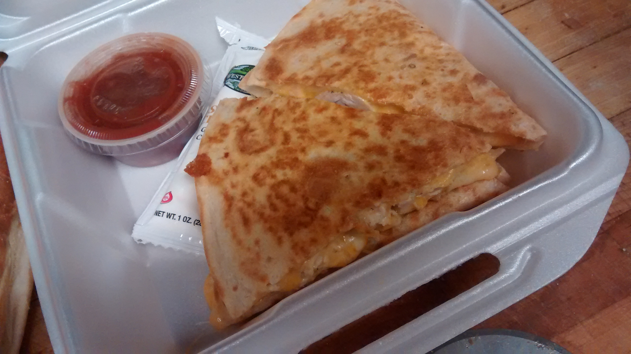 Cheese Quesadillia
