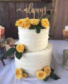 Buttercream wedding cake by Sugar Beats Bake Shop