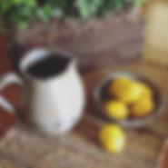 pitcher handmade stoneware pottery
