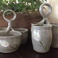 triple-server-handpainted-stoneware-pott