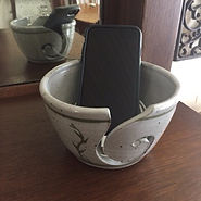 pottery Phone Bowl
