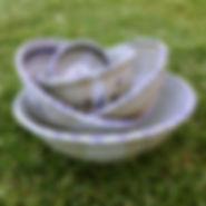 bowls handmade stoneware pottery