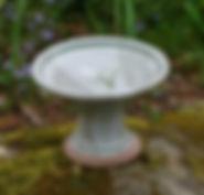 pedestal-plate-handpainted-stoneware-pot