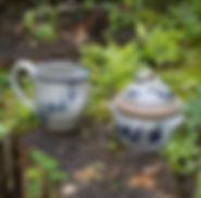 cream-sugar-handpainted-stoneware-potter