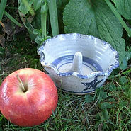 apple baker handmade stoneware pottery
