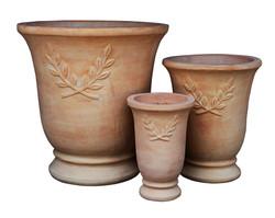 Vase feuille olivier A1342036-3