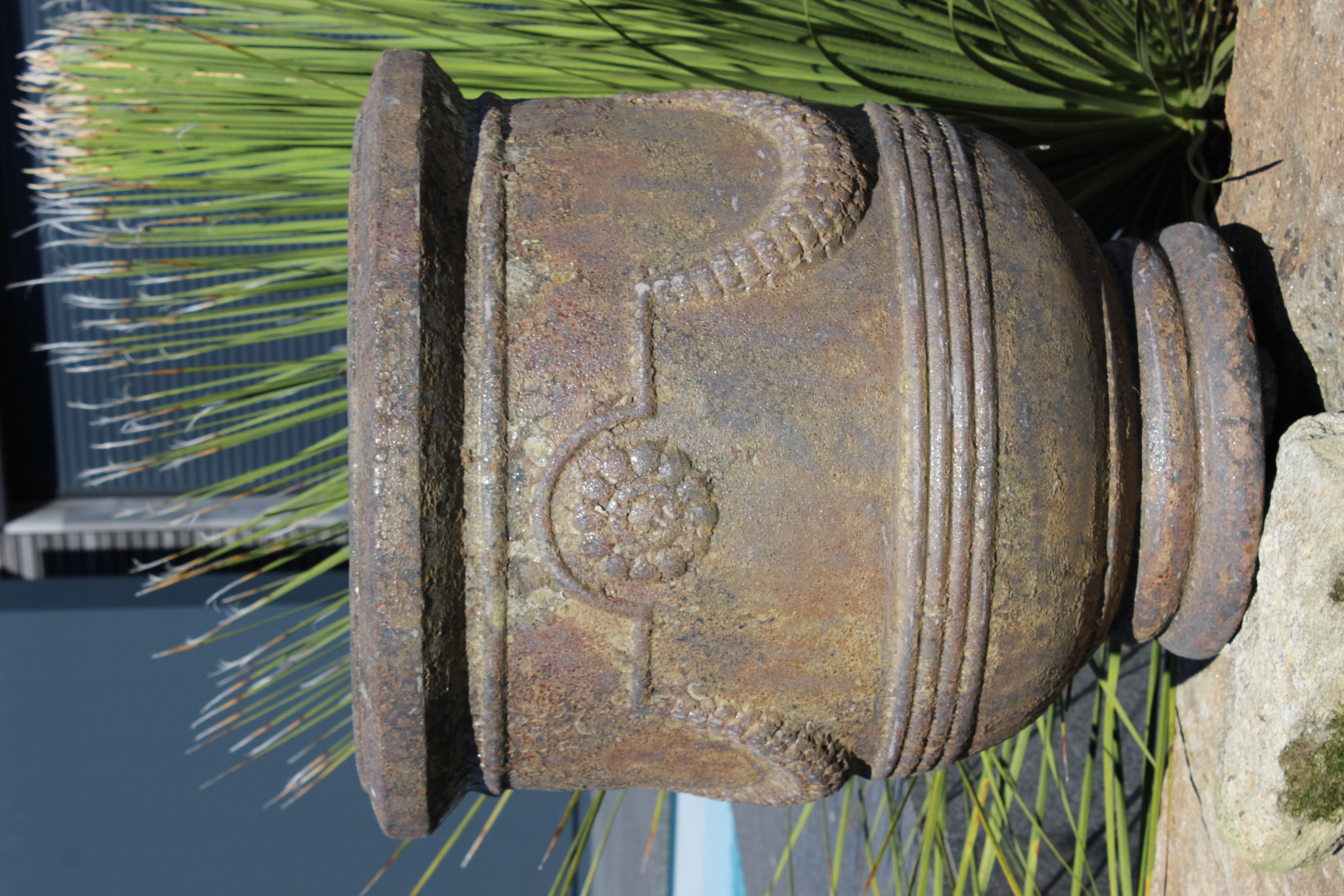 Vase Antique 64 cm Pierre de feu