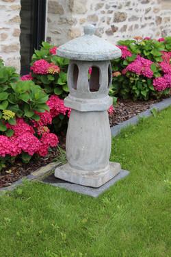 Lanterne grès vieilli 95 cm
