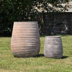 Pot rond évasé antique A1342219-2T