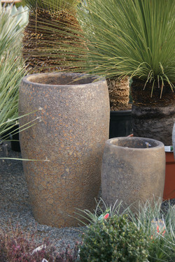 Pot haut 86 cm pierre de feu