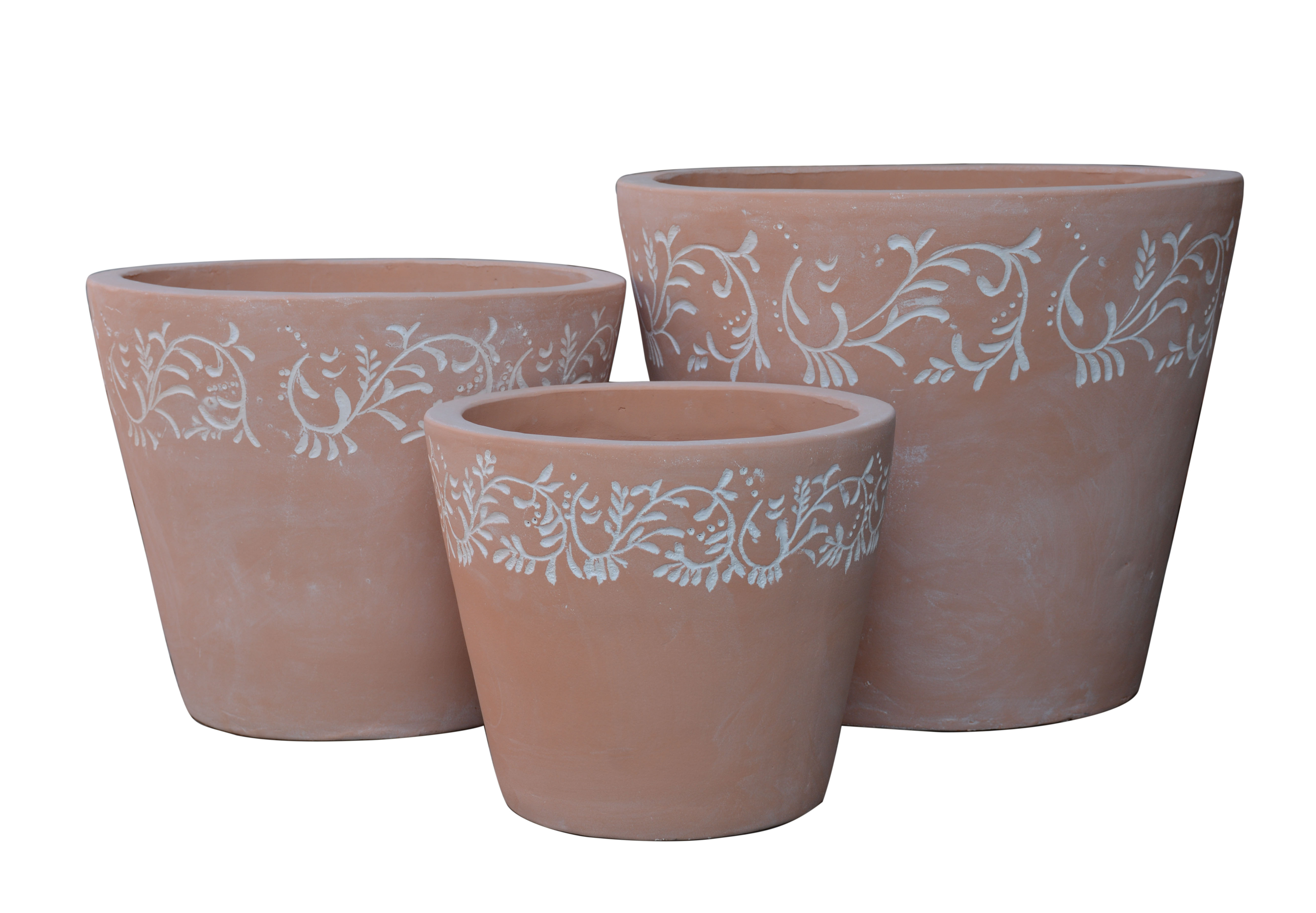 Pot frise blanche A1342099-3W